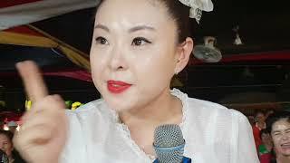 ♥버드리♥ 8월15일 까꿍이에게 현장교육을 열심히 시키는 밤공연마무리 원주섬강축제