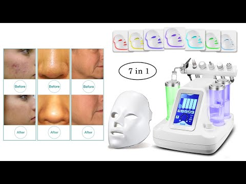 (LW-06) 7 In 1 Hydra Peel Machine, Skin Rejuvenation Beauty Machine With LED Mask