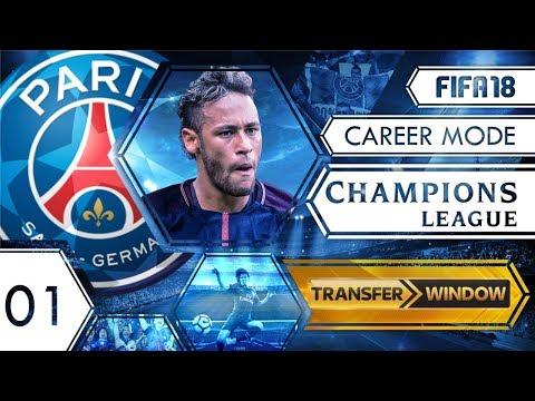 FIFA 18: UEFA Champions League Career Mode - PSG - S1 EP1