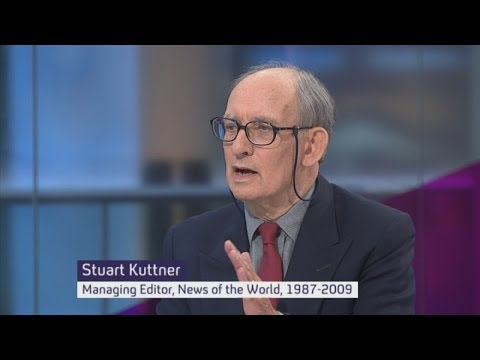 Stuart Kuttner, former managing editor of News of the World