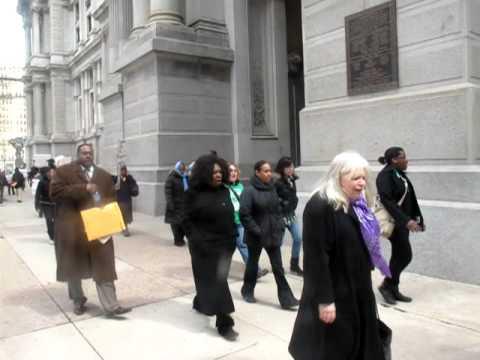 Philadelphia Unemployment Project - EHLP Rally