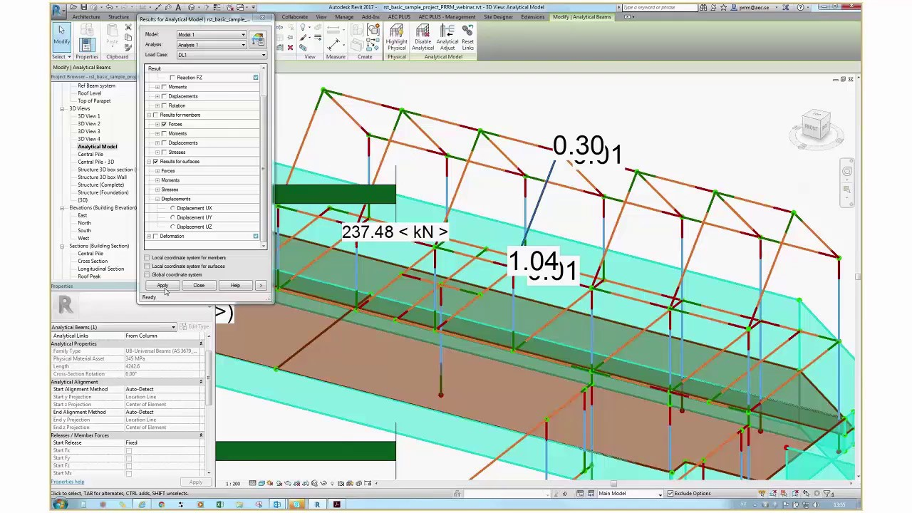 Webinar - Structural Analysis for Revit