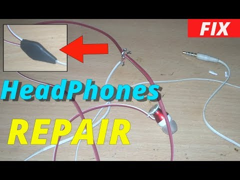 Headphone Repair | Replace cable | How to | easy |(100% fix) (2018)