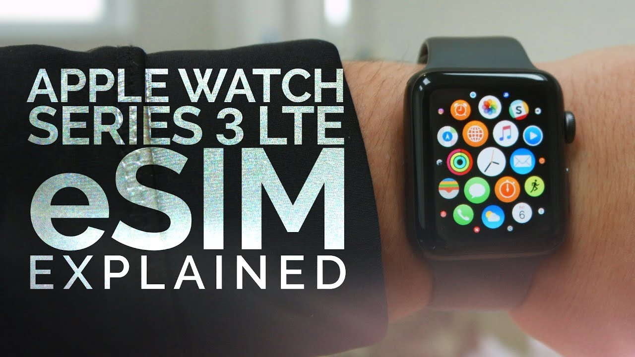How does the Apple Watch eSIM work?