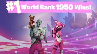11 GAME WIN STREAK! #1 World Ranked 1,950 Solo Wins - Road to 2,000 Wins! thumbnail