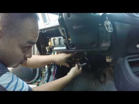 honda civic viper car alarm install tutorial