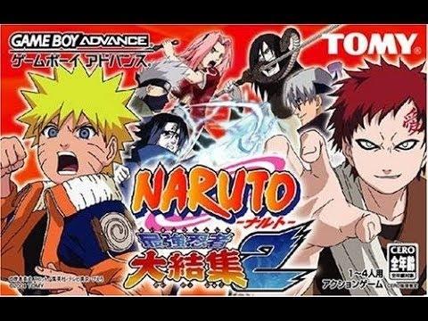 naruto saikyou ninja daikesshu 2 gba