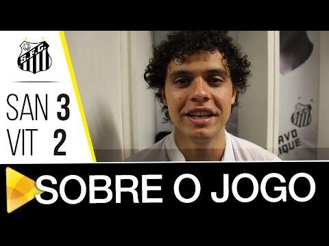 Victor Ferraz e Ricardo Oliveira analisam triunfo sobre o Vitória