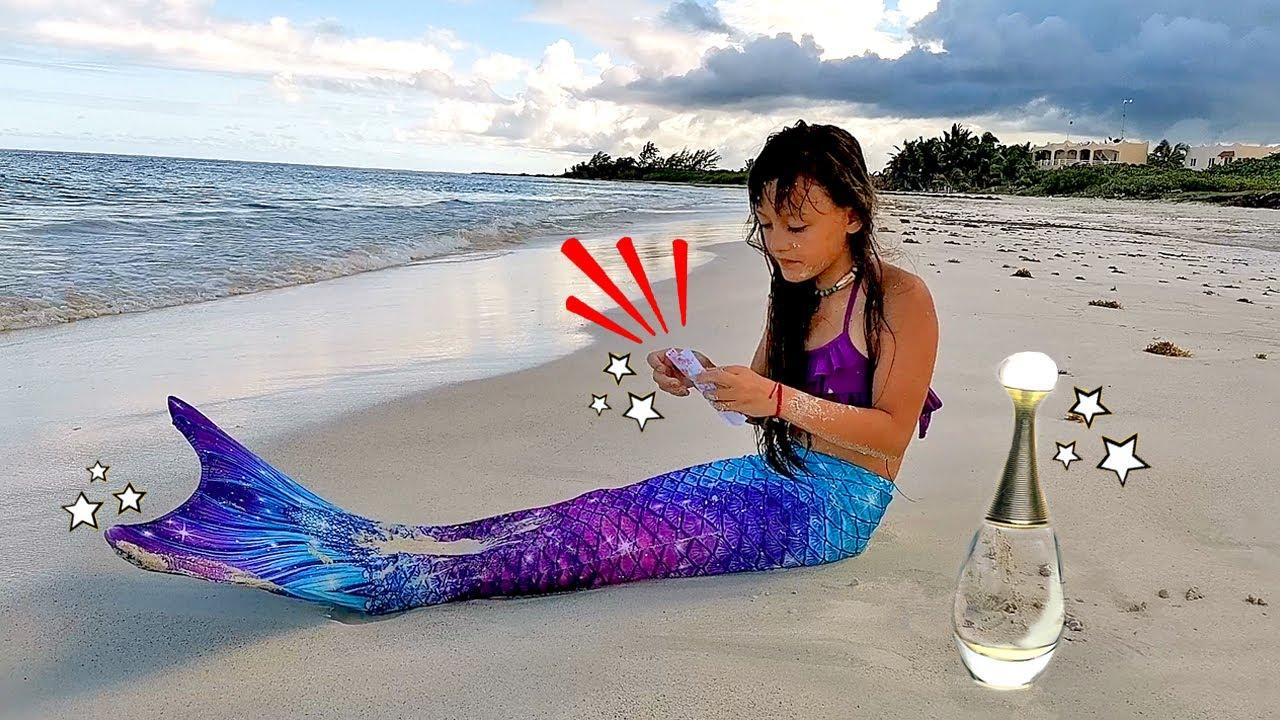 UN ALTRO MESSAGGIO DAL MARE PER SOFI... Trasformazione Sirena * Ep.(3) SIRENA *