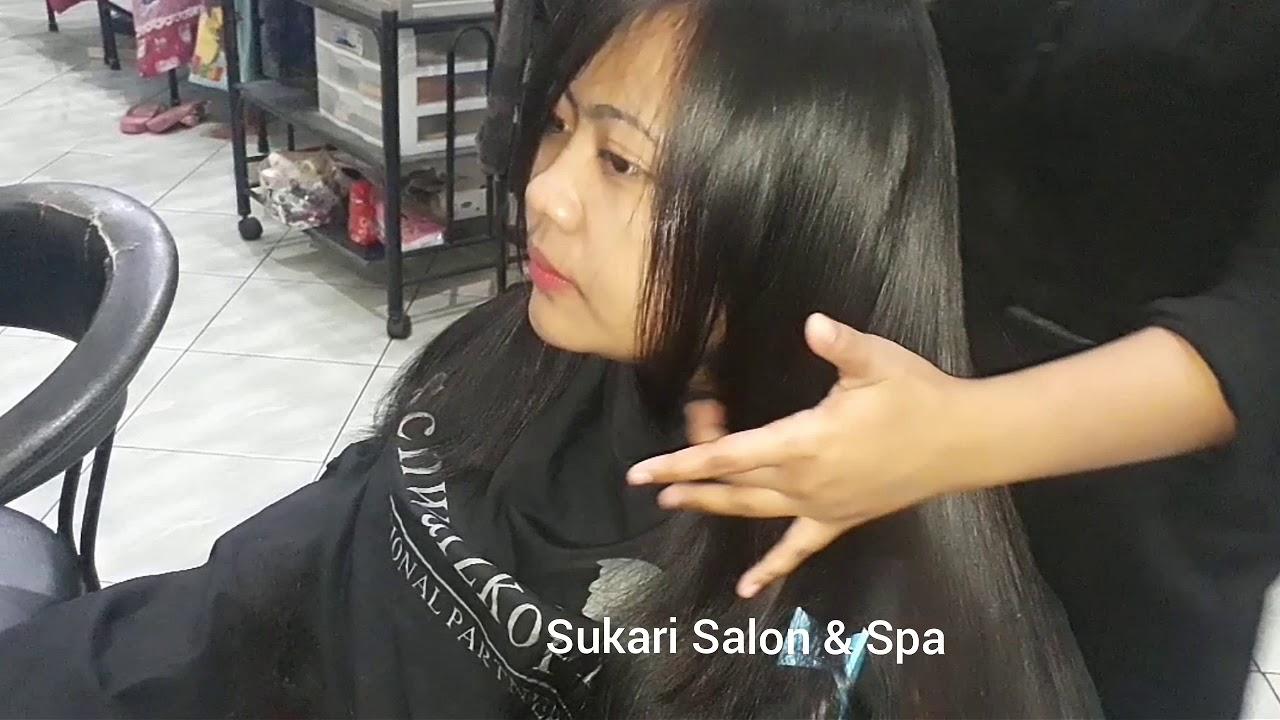 Potong Rambut Segi Layer