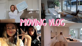 MOVING VLOG #1 | APARTMENT TOUR + GETTING SETTLED IN | Sophie Suchan