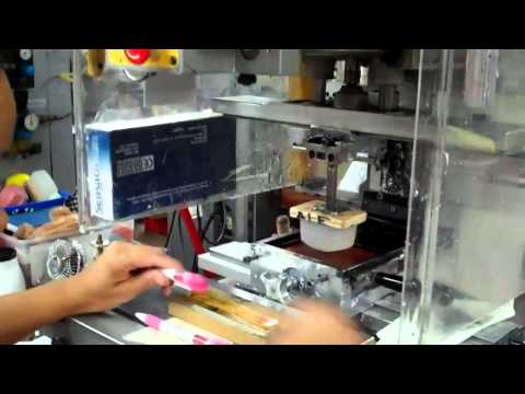 Pen Pad Printing Process on Promotional Pens & Custom Pens