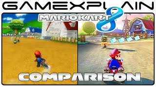 Mario Kart 8: Moo Moo Meadows Head-to-Head Comparison (Wii U vs. Wii)