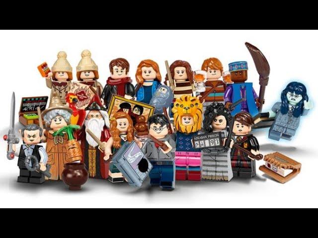 Lego Harry Potter Minifiguren serie 2 Unboxing