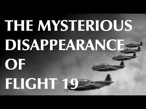 The Mysterious Disappearance of Flight 19