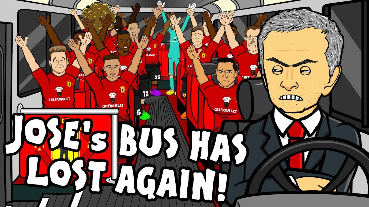 🚌JOSE'S BUS HAS LOST AGAIN - the song!🚌 (Man Utd vs Tottenham 0-3 Parody Highlights)