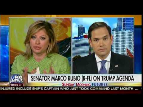 Pres Trump Rolls Back Obama Administration's Cuba Outreach -Marco Rubio - Sunday Morning Futures