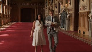 Duke and Duchess of Sussex introduce their baby boy