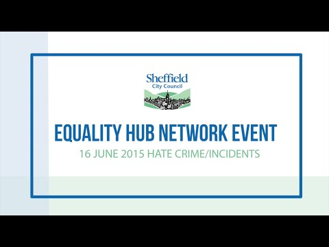 Hate Crime Event - Equality Hub Network