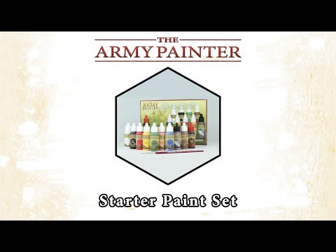 The Army Painter Starter Paint Set