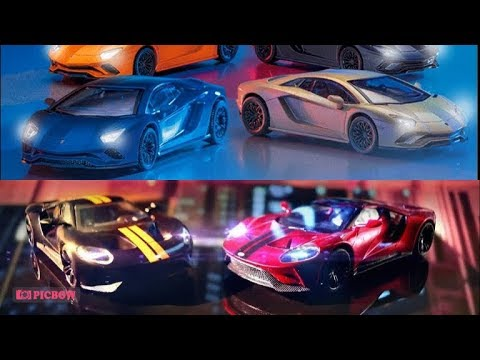 2018 Petron Toy Car Lamborghini Aventador S Ford Gt Promo Youtube