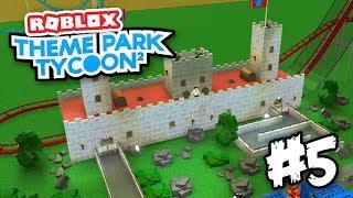 CASTLE COASTER - Roblox Theme Park Tycoon 2 #5