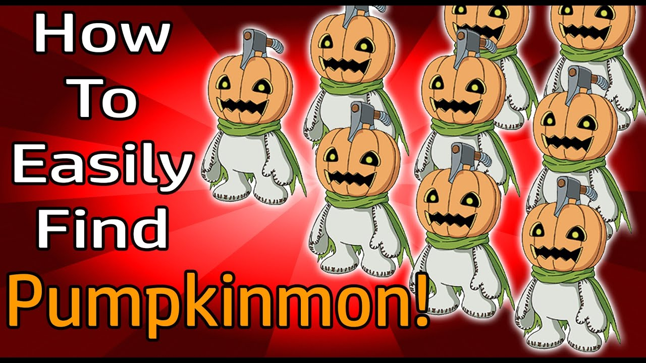 How to easily find pumpkinmons halloween event digimon masters how to easily find pumpkinmons halloween event digimon masters online negle Choice Image