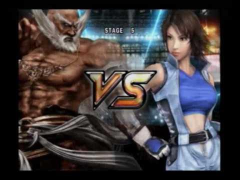 Tekken 5 Jinpachi Mishima Story Mode Youtube