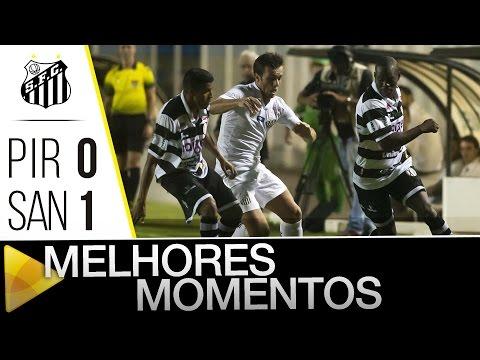XV de Piracicaba 0 x 1 Santos | MELHORES MOMENTOS | Paulistão (15/03/16)
