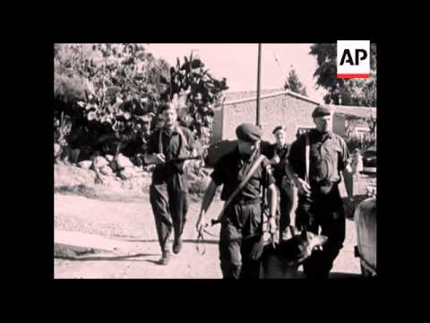 CAN586 UN FORCES IN CYPRUS VARIOUS CAMPS AND FACTORIES