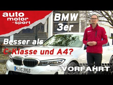 BMW 3er 320d G20 (2019): Besser als C-Klasse und A4? - Vorfahrt (Review) I auto motor und sport