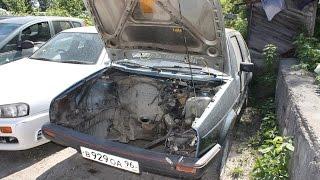 03. VW Golf GTI за 45.000! Снимаем двигатель!