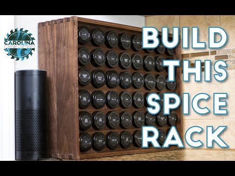 How to Build the Ultimate Spice Rack | Woodworking / DIY