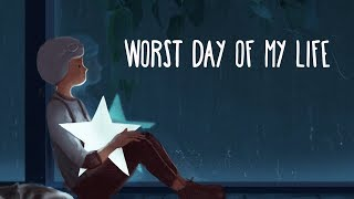 Alec Benjamin ~ Worst Day of my Life (Lyrics)