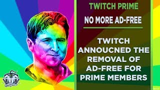 Twitch Drops Ad-Free Viewing for Prime Members