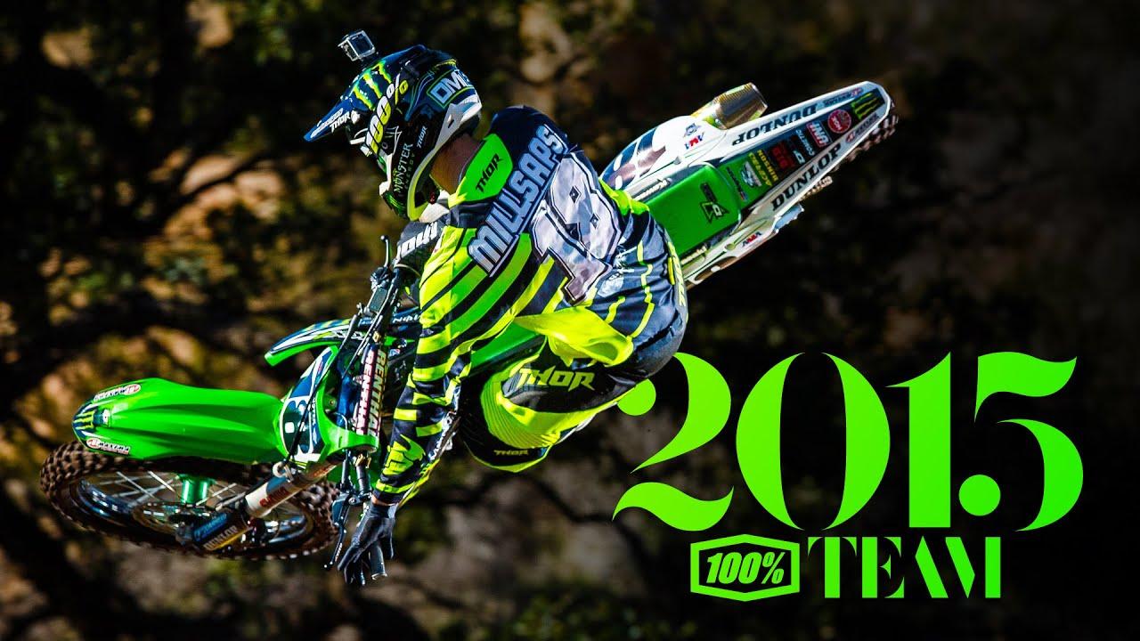 100 Team Intro 2015 Supercross Season