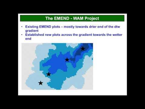 Ellen Macdonald - Understanding Spatial Patterns of Biodiversity at the EMEND Site Using WAM