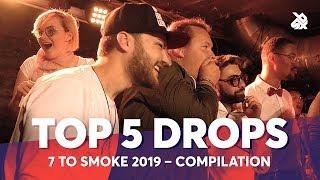 TOP 5 DROPS 😱 Grand Beatbox 7 TO SMOKE Battle 2019