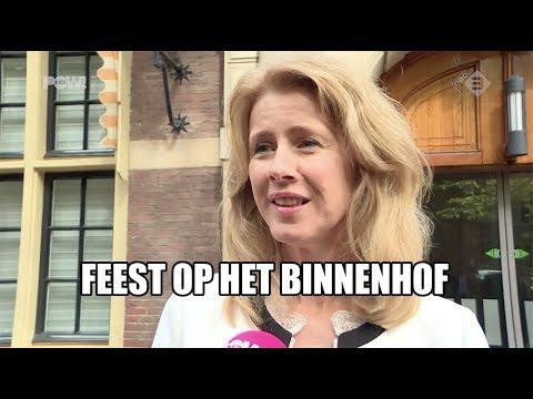 Feest op het Binnenhof
