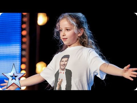 Issy Simpson is a real life Hermione Granger | Auditions Week 2 | Britain's Got Talent 2017