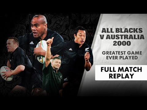 Game Of The Century | All Blacks V Australia 2000