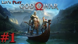 God of War (2018) PS4 - Part 1 - Father Son Journey