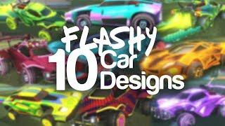 10 Insanely Flashy Car Designs | Rocket Fashion episode 3