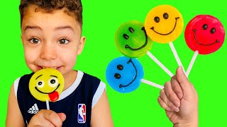 Color Song | Baby Nursery Rhymes for Children and Fruit Lollipop | Learn Colors