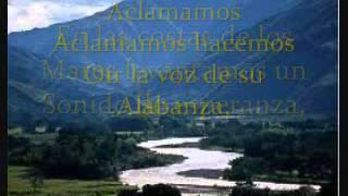 En los montes,  con letras  Marcos witt