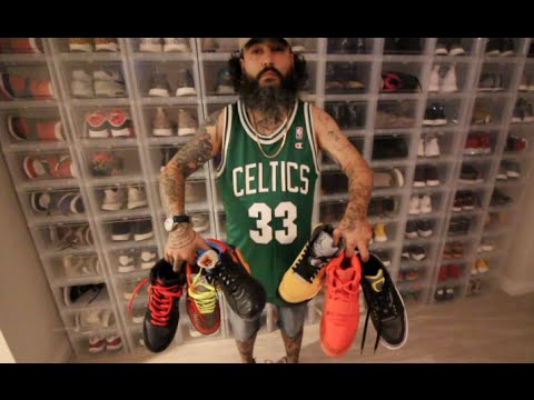 SNEAKER STORE OWNER'S $200,000 ENTIRE SNEAKER COLLECTION!!!