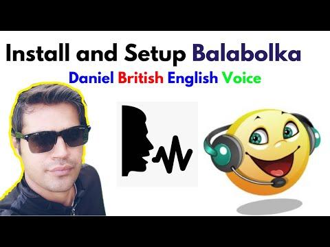 Balabolka Text to Speech TTS Software , Daniel British English Voice