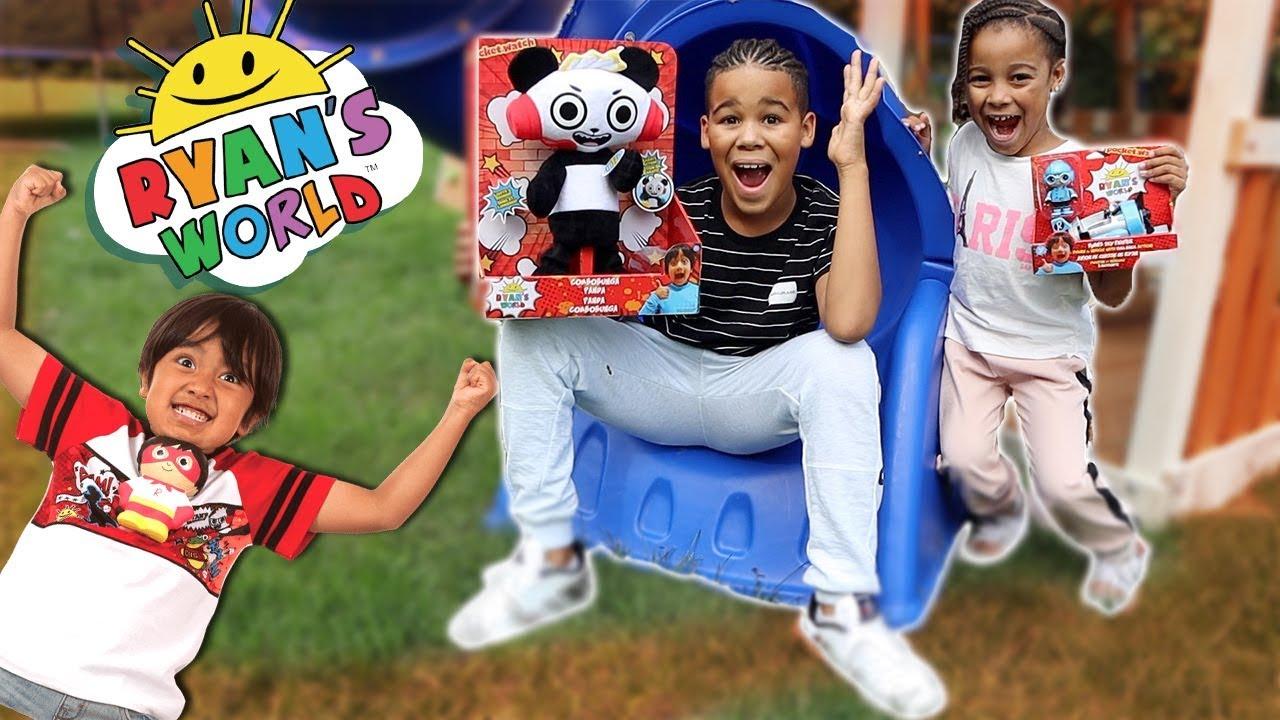 Magical Ryans World Toys Surprise FamousTubeKIDS
