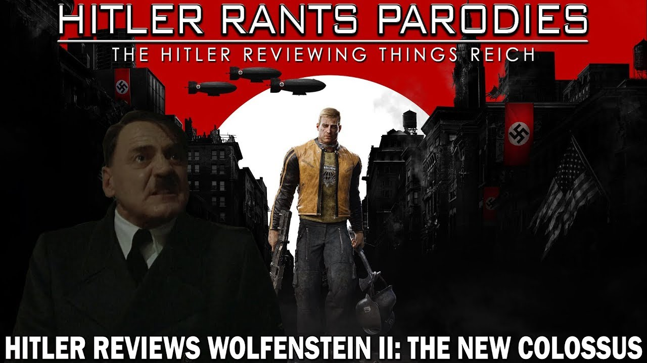 Hitler Reviews: Wolfenstein II: The New Colossus