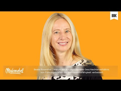 Beate Rosenthal | GENERATION CEO - Neue Impulse für Frauen in Führungspositionen